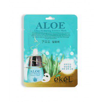 Ekel Aloe Ultra Hydrating Essence Mask - Тканевая маска с экстрактом алоэ