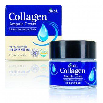 Ekel Collagen Ampule Cream - Ампульный крем с коллагеном