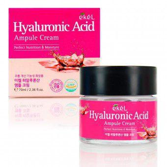 Ekel Hyaluronic Acid Ampule Cream - Ампульный крем с гиалуроновой кислотой