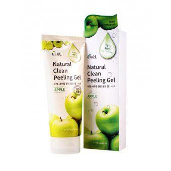 Ekel Apple Natural Clean Peeling Gel - Пилинг-скатка с экстрактом яблока