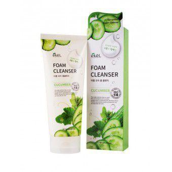 Ekel Cucumber Foam Cleanser - Пенка для умывания с экстрактом огурца