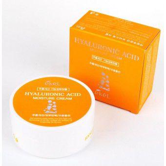 Ekel Hyaluronic Acid Moisture Cream - Увлажняющий крем для лица с гиалуроновой кислотой