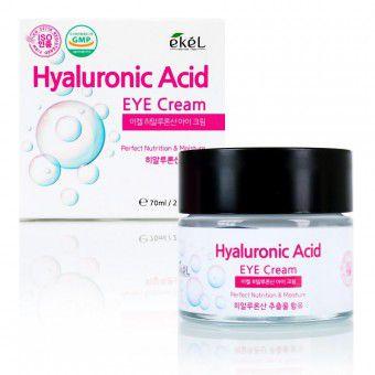 Ekel Hyaluronic Acid Eye Cream - Крем для кожи вокруг глаз с гиалуроновой кислотой