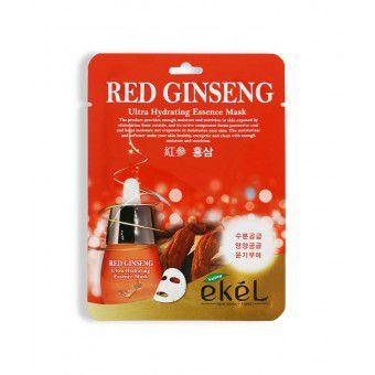 Ekel Red Ginseng Ultra Hydrating Essence Mask - Тканевая маска с экстрактом красного женьшеня