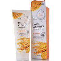 Rice Bran Foam Cleanser - Пенка для умывания с экстрактом коричневого риса