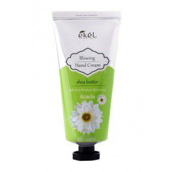 Ekel Blowing Hand Cream Acacia - Крем для рук увлажняюший с маслом ши и экстрактом акации