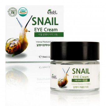 Ekel Snail Eye Cream - Крем для глаз с муцином улитки