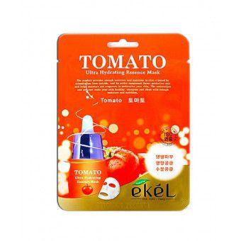 Ekel Tomato Ultra Hydrating Essence Mask - Тканевая маска с экстрактом томата