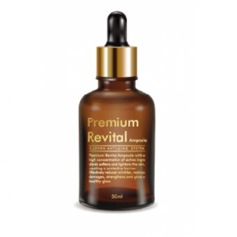Ellevon Premium Revital Ampoule - Ревитализирующая Сыворотка Премиум