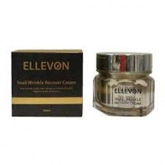 Ellevon Snail Wrinkle Recover Cream - Антивозрастной крем с экстрактом улитки