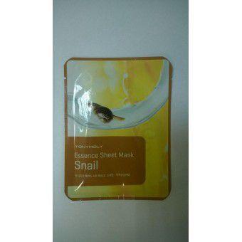 TonyMoly Essence Sheet Mask-Snail Skin Damage Care - Маска тканевая с улиточным муцином