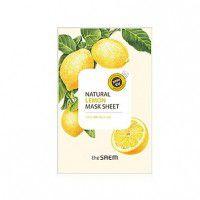 Natural Lemon Mask Sheet - Маска для проблемной кожи