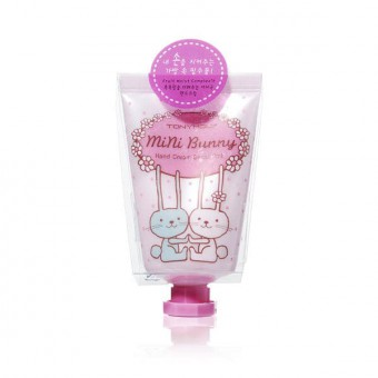 TonyMoly Mini Bunny Hand Cream - Sweet Pink - Цветочный и фруктовый крем для рук