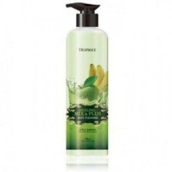 Deoproce Healing Mix Plus Body Cleanser (Apple Banana) - Гель для душа Яблоко и Банан