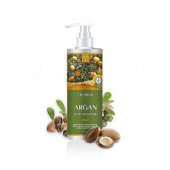 Deoproce Rinse - Argan Silky Moisture Shampoo - Увлажняющий шампунь с маслом арганы