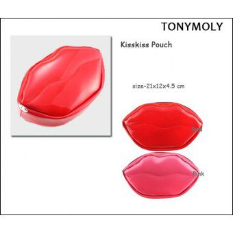 TonyMoly Kisskiss pouch Red - Косметичка