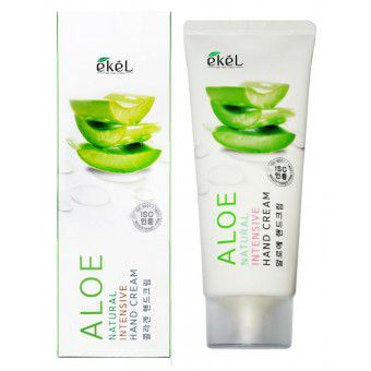 Ekel Natural Intensive Hand Cream Aloe - Крем для рук интенсивный с экстрактом алоэ