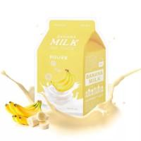 Banana Milk One-Pack - Питательная тканевая маска с молочными протеинами и экстрактом банана