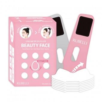 Rubelli Beauty Face - Набор масок + бандаж для подтяжки контура лица