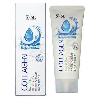 Ekel Natural Intensive Hand Cream Collagen - Крем для рук интенсивный с коллагеном