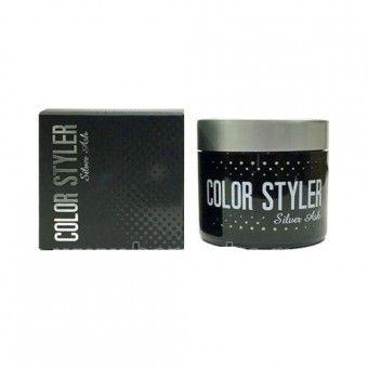 Bosnic Color Styler Silver Ash - Фиксирующий воск для волос с серебристым оттенком