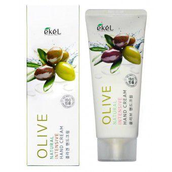Ekel Natural Intensive Hand Cream Olive - Крем для рук интенсивный с оливой