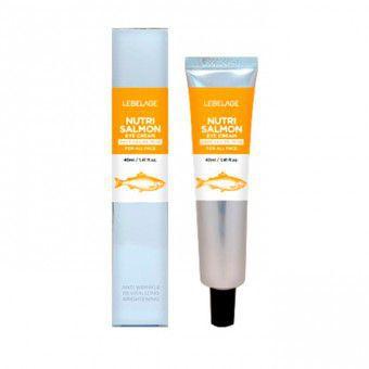 Lebelage Eye Cream Nutri Salmon - Крем с маслом лосося для кожи вокруг глаз