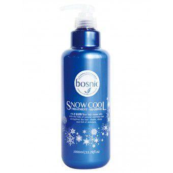 Bosnic Snow Cool Shampoo - Охлаждающий шампунь для волос с маслом перечной мяты