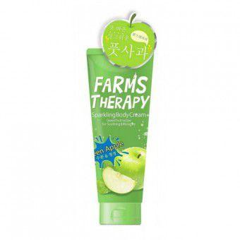 Doori Cosmetics Farms Therapy Sparkling Body Cream (Green Apple) - Крем для тела «ЗЕЛЕНОЕ ЯБЛОКО»