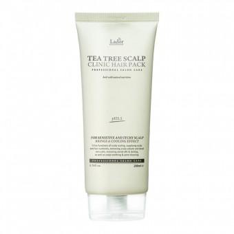 La'dor Tea Tree Scalp Clinic Hair Pack - Маска с экстрактом чайного дерева для очищения кожи головы