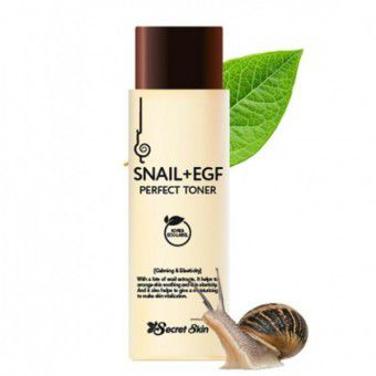Secret Skin Snail+EGF Perfect Toner - Тонер для лица с муцином улитки