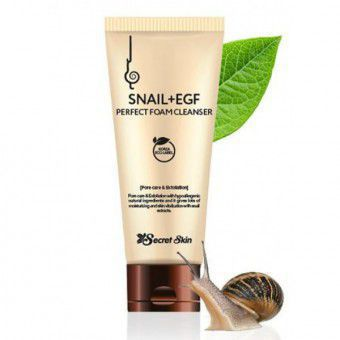 Secret Skin Snail + Egf Perfect Foam Cleanser - Пенка для умывания с муцином улитки