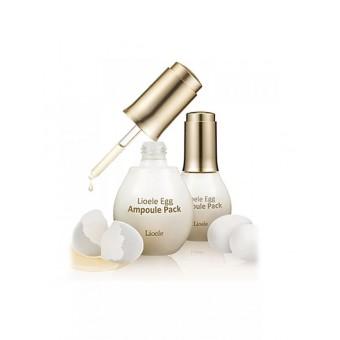 Lioele Egg Ampoule Pack - Маска-сыворотка для лица яичная