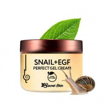 Secret Skin Snail + Egf Perfect Gel Cream - Крем-гель для лица с экстрактом улитки