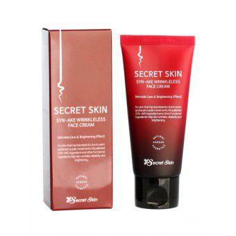 Secret Skin Syn-Ake Wrinkleless Face Cream - Крем для лица со змеиным ядом