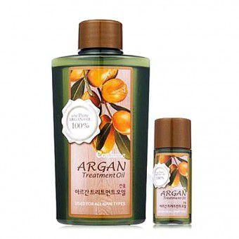 Welcos Confume Argan Treatment Oil - Масло для волос аргановое с омолаживающими свойствами( набор)