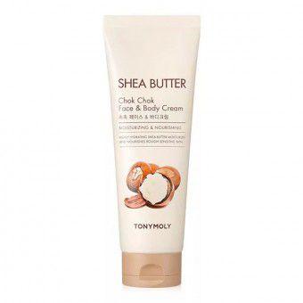 TonyMoly Shea Butter Chok Chok Face & Body Cream - Питательный крем для лица и тела с маслом ши