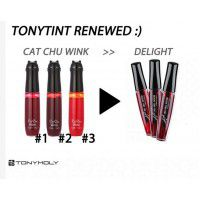Delight Tony Tint 03 Orange Cha Cha - Тинт для губ