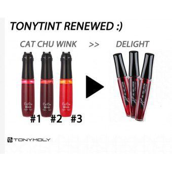 TonyMoly Delight Tony Tint 03 Orange Cha Cha - Тинт для губ