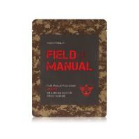 Field Manual Mask Sheet Master - Маска для лица мужская увлажняюще-питательная