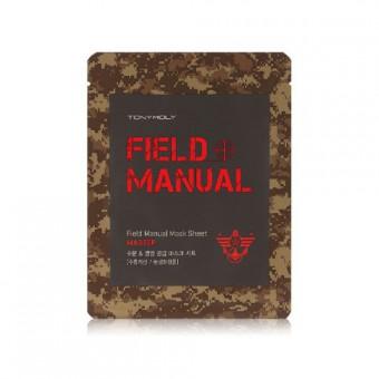 TonyMoly Field Manual Mask Sheet Master - Маска для лица мужская увлажняюще-питательная