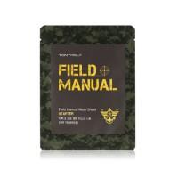 Field Manual Mask Sheet Starter - Маска для лица мужская увлажняюще-питательная