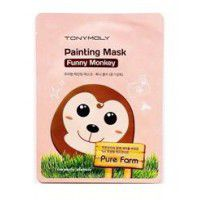 Pure Farm Painting Mask – Funny Monkey - Маска тканевая