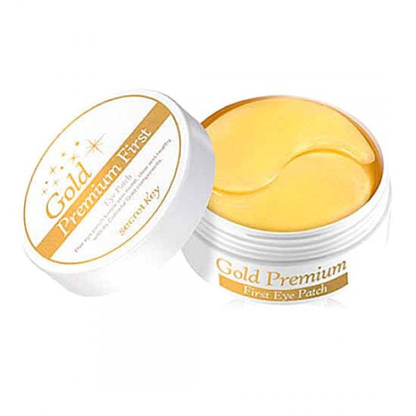 24K Gold Premium First Eye Patch - Патчи для глаз с золотом