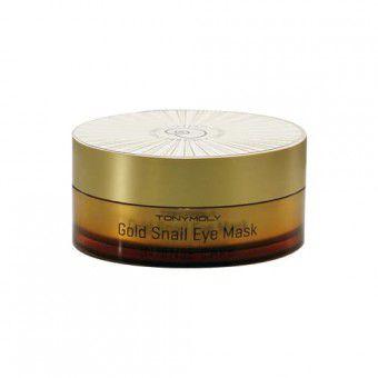TonyMoly Gold Snail Eye Mask - Патчи для глаз с улиткой и золотом