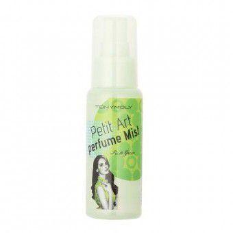 TonyMoly Petit Art Perfume Mist Fresh Green - Мист с ароматом зеленого чая