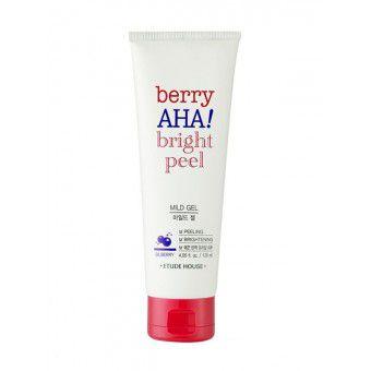 Etude House Berry Aha Bright Peel Mild Gel - Пилинг-гель для лица