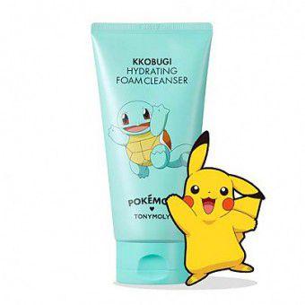Pokemon Foam Cleanser Kkobugi Hydrating - Увлажняющая пенка для умывания
