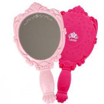 Lioele Princess Mirror Baby Pink - Зеркало косметическое
