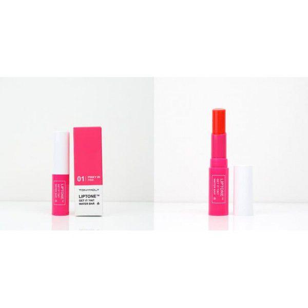Liptone Get It Tint Water Bar 01 Pinky in Pink - Тинт для губ увлажняющий